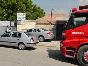 Beyşehir Cezaevinde yangın tatbikatı