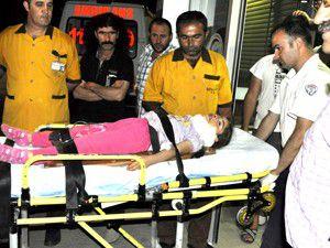 Seydişehirde balkondan düşen çocuk yaralandı