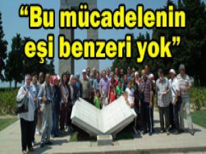 TYB Konya Şubesi Çanakkalede