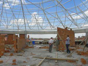 Kulu Site İş Merkezi inşaatı devam ediyor