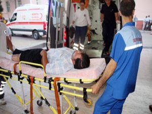 Berberi bıçaklayan genç polise yakalanınca ağladı