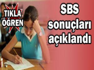 8. sınıfların SBS sonuçları belli oldu