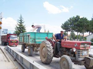 Beyşehirde 23 günde 20 bin ton hububat alımı yapıldı