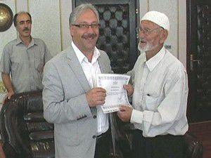 86 yaşında Kuran-ı Kerimi ezberledi