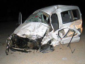Konyada trafik kazası: 3 ölü, 5 yaralı