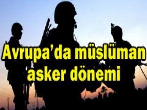 Müslüman asker sayısı artıyor