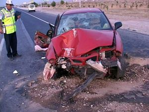 Düğün yolunda kaza: 6 yaralı