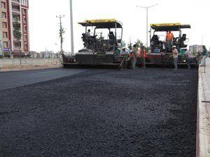Selçukluda asfalt çalışmaları sürüyor