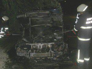 Kızgın oğul babasının otomobilini yaktı!