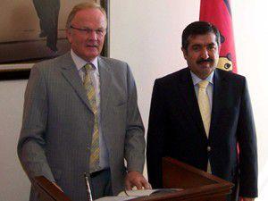 Almanya Büyükelçisinden Doğana ziyaret