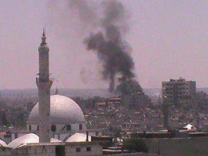 Şamda intihar saldırısı