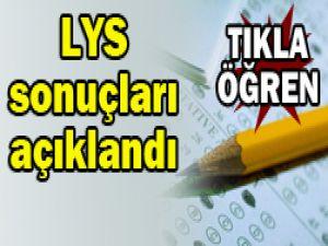 2012 LYS sınavı sonuçları açıklandı