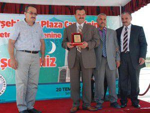 Beyşehirliler Plaza Camii dualarla açıldı