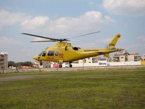 Konyaya ambulans helikopter geliyor