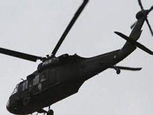 Yüksekovada Helikopter düştü
