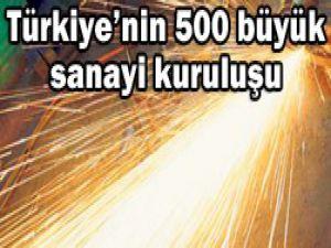 Türkiyenin 500 büyük kuruluşu