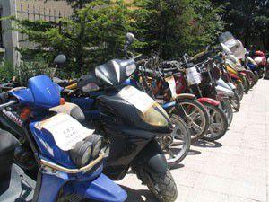 5 bin motosikletten 45i çalıntı çıktı