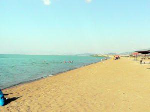 Beyşehir sahilleri Ramazan nedeniyle boşaldı