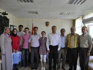 SBSde derece yapan öğrenciler ödüllendirildi