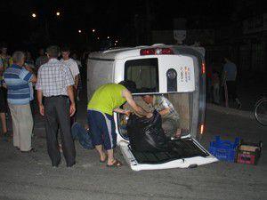 Konyada trafik kazası: 6 yaralı