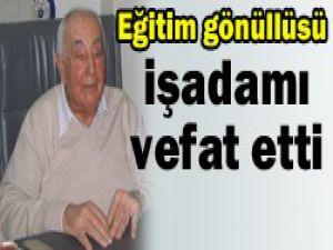 Konyalı işadamı İstanbulda öldü