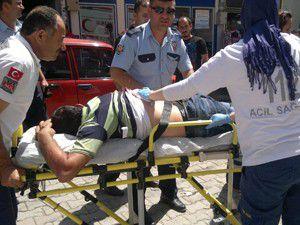 Ereğlide bir kişi bıçakla yaralandı