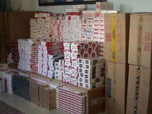 11 bin 180 paket kaçak sigara ele geçirildi