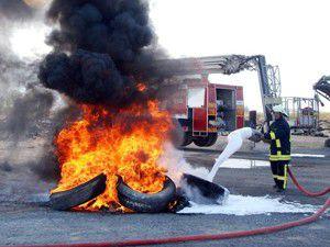 Akşehirde 6 ayda 91 yangın meydana geldi