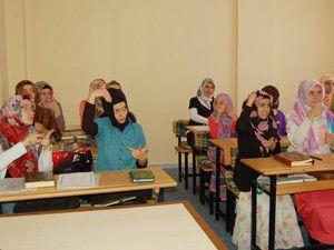 Engelli öğrencilere Kuran kursu