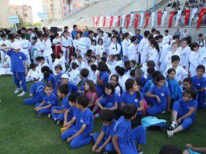 Selçukluda Spor Okuluna yoğun ilgi