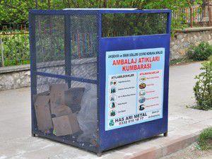Akşehirde Çöpleri zamanında çıkaralım uyarısı
