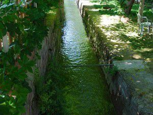 Merama 4. sulama suyu veriliyor