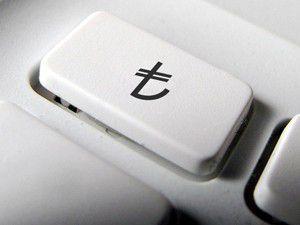 Yeni TL simgesi artık klavyelerde