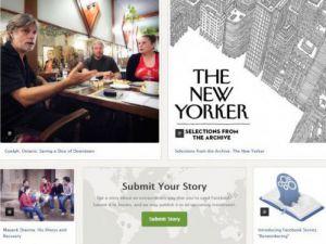 Facebookdan yeni bir web sitesi