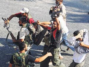 Esedin siyasi güvenlik müdürü esir düştü!