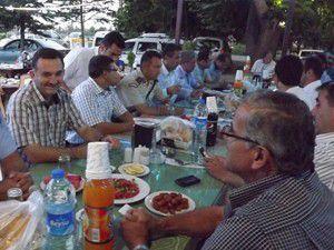 Şehit yakınları ve gazilere iftar