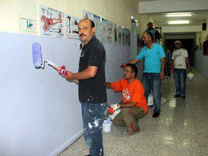 Öğretmenler gönüllü tadilat yapıyor