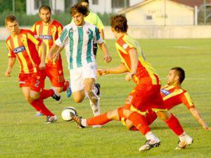 Konyaspor hazırlık maçında farklı galip