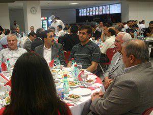 AKTİSAD ailesi iftar yemeğinde bir araya geldi