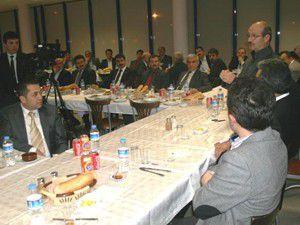AK Parti İl Teşkilatından Çumraya ziyaret