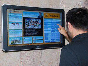Büyükşehirden elektronik ilan panosu
