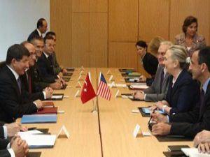 Davutoğlu-Clinton görüşmesi sona erdi