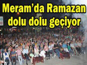 Meramda Ramazan bereketi