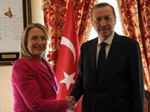 Clinton, Başbakan Erdoğan ile görüştü