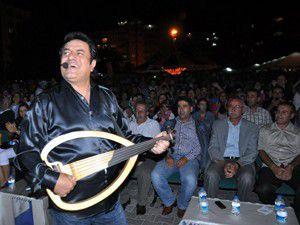 Coşkun Sabah Seydişehirde konser verdi