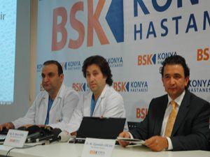 BSK Hastanesiden Konyada bir ilk