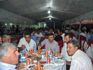 Belediye Başkanı Kaleden siyasilere iftar