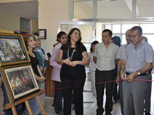 Seydişehirde 3 boyutlu resim sergisi açıldı