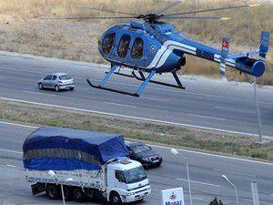Bayram trafiği havadan da izlenecek