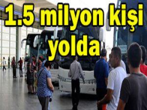 Otobüs firmaları doldu